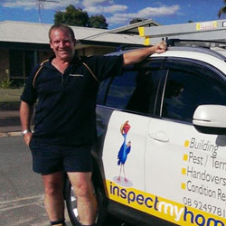 Perth building and pest inspector James