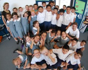 Students at Parramatta Public School