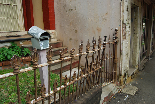 Fence of Glebe Terrace House