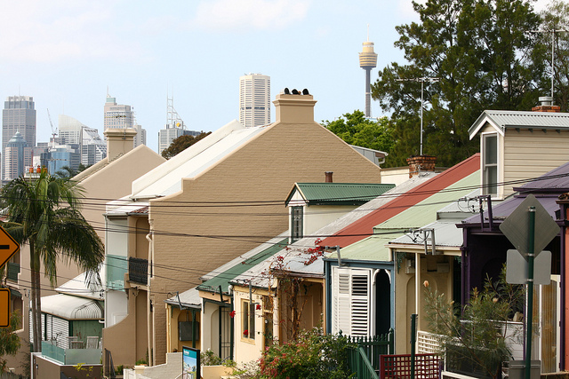 Glebe Terrace Houses