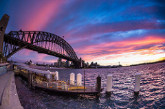 milsons point view