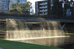 parramatta water spray
