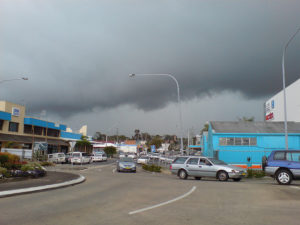Storm Clouds Over Coffs Harbour