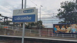 lidcombe station sign