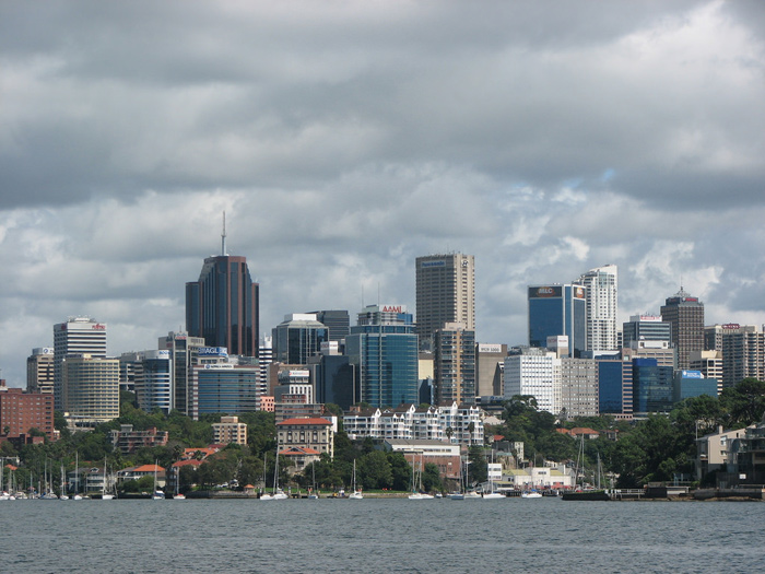 north sydney skyline