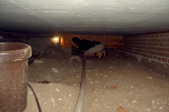 subfloor inspection
