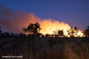 Bushfire in WA