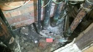 plumbing shaft