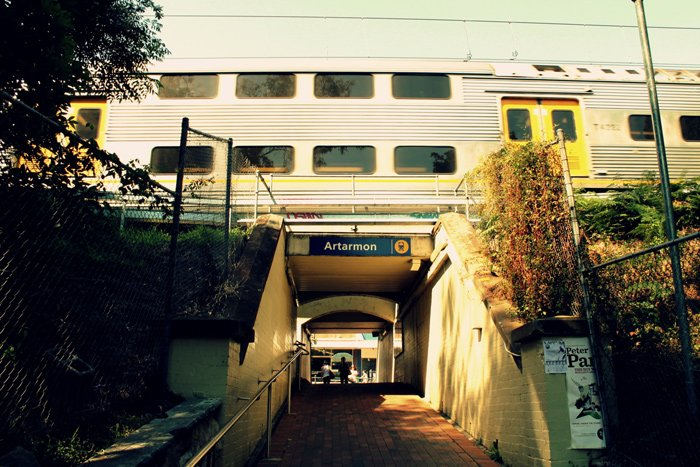 Artarmon Train Station