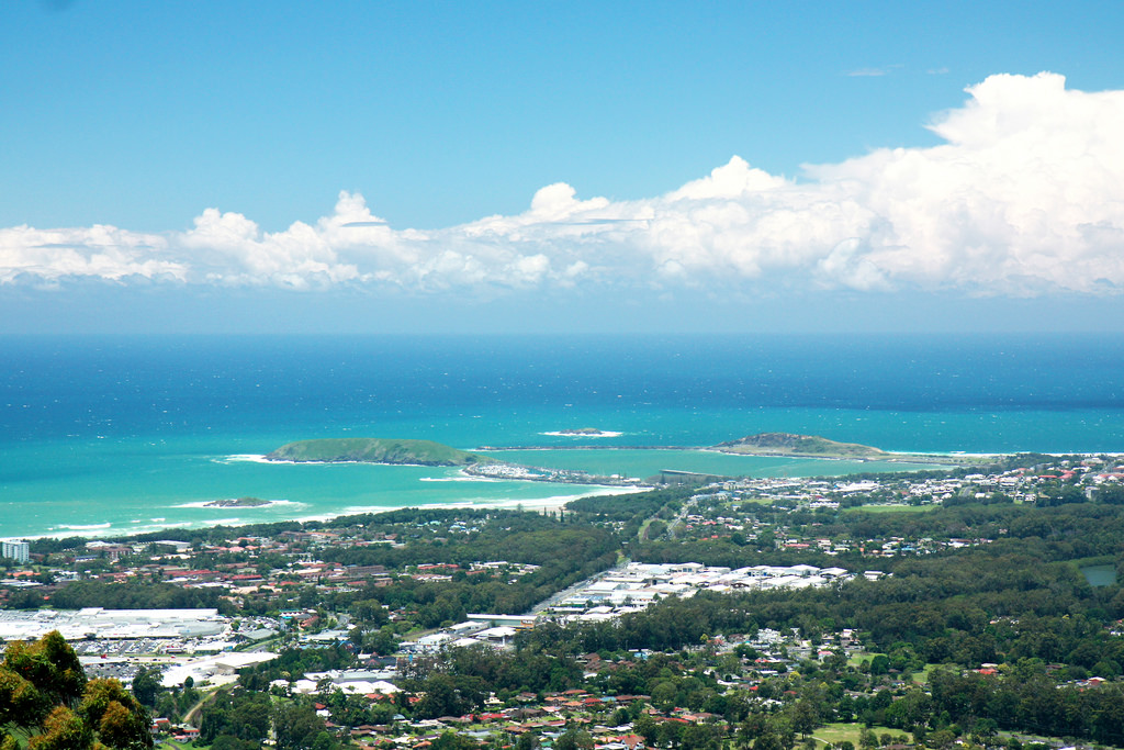 Coffs Harbour Aerial View